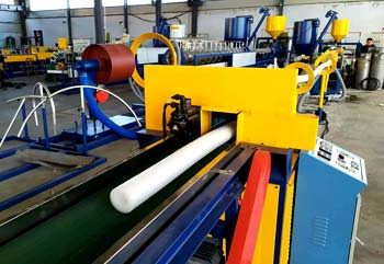 EPE Foam Tube,Rod,Profiles Extrusion Line