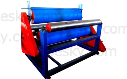 Tractor of the pe foam sheet extrusion line